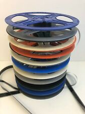 "Lot of 9 35mm 14.5"" Plio Magic and 20th Century Plastic Split Reel Many Colors"