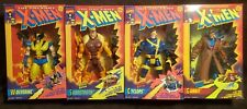 ToyBiz 1993 1994 Xmen Deluxe Edition Wolverine Sabertooth Cyclops Gambit Lot 10""