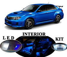 LED Package - Interior + License Plate + Vanity for Subaru WRX / STI (10 pieces)