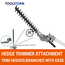 Hedge Trimmer Attachment Fit 4-Stroke Honda GX35/GX25 with 9 Splines Shaft Model