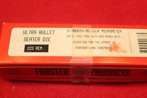 Forster micrometer .223 seating die