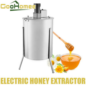 2 Frame 120 W Motor Stainless Steel Electric Honey Extractor Strong power