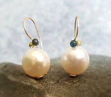 HANDMADE! Genuine Pearl Earrings 20111