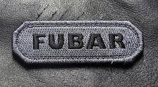 FUBAR TACTICAL MORALE ACU MILSPEC ARMY VELCRO® BRAND FASTENER PATCH