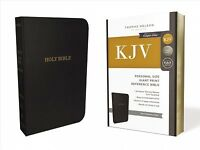 Holy Bible : King James Version, Black, Bonded Leather, Personal Size, Giant ...