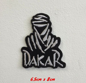 Dakar rally sports cars art badge Embroidered Iron or Sew on Patch
