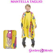 MANTELLA PARRUCCHIERE TAGLIO CAPELLI PER SALONE PER BAMBINO /A