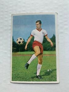 Franz Beckenbauer Bergmann 1965 Rookie Vintage Soccer Card