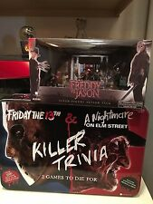 Freddy Vs Jason Friday The 13th Nightmare On Elm Street Jason Freddy Set Of Two