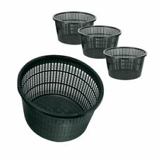 More details for round pond planting lily baskets koi fish aquatic garden margins plant plastic