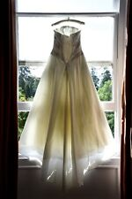 Ivory Wedding Dress Size 12 with Beautiful Lace Detail, Dry Cleaned