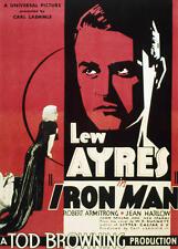 Iron Man - 1931 - Lew Ayres Jean Harlow Tod Browning Vintage b/w Film Drama DVD