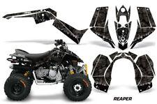 ATV Graphics Kit Quad Decal Sticker Wrap For Can-Am DS90 2007-2018 REAPER BLACK
