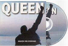 QUEEN HEAVEN FOR EVERYONE DUTCH CD SINGLE . card sleeve