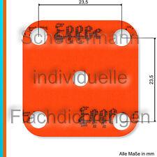 Lasergeschnittenes Effbe-Membrantuch für Solex 28 PCI Vergaser