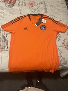 2021 New York City FC NYCFC Adidas Pre-Match Training shirt NWT XL