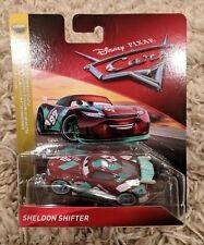 NEW IN BOX Disney/Pixar Cars 3 Sheldon Shifter Sputter Stop Die-Cast 1:55 Scale