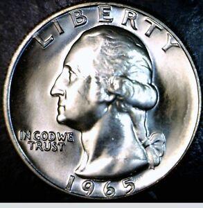1965 CH / GEM BU Washington Quarter NICE SMS Proof Like Coin #PQ70 w/  FREE SHIP