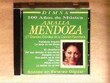CD RARE / AMALIA MENDOZA Y 7 GRANDES ESTRELLAS DE LA CANCION / TRES BON ETAT