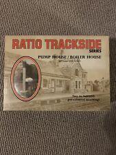 Ratio Trackside Kit 508 Pump or Boiler House plastic kit unused 00 gauge