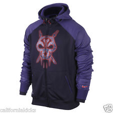NIKE Kobe Mamba Hero Full Zip Therma Fit Hoodie sz XL X-Large Purple Jacket