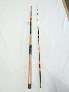 Monster Catfish Casting Rod 10' 2PC New Tilting Guides Glow Tip