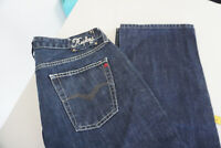 REPLAY Damen Jeans regular Hose 31/30 W31 L30 stonewash darkblue TOP P7