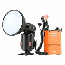 Godox Witstro AD-180 Flash Outdoor Speedlite PB960 Battery Power Pack Kit Orange