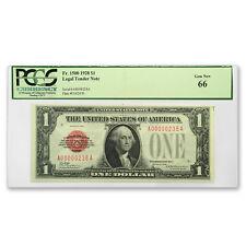 1928 $1.00 U.S. Note Legal Tender Gem CU-66 PCGS (Low Serial #) - SKU #152340
