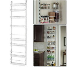 Kitchen Organizer Pantry Closet Storage Holder Rack Hanging Wall Door 8 Tier New