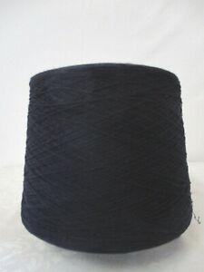 """Wolle Kone""""Rest-Filaty cocco"""" 800g 13,50€/Kg""""nachtblau""""100%Wolle Nm 15/1=30/2"""