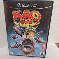 Kao the Kangaroo Round 2 COMPLETE CIB Nintendo GameCube (in ps2 case) 2006