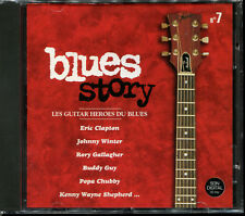 BLUES STORY - N°7 LE GUITAR HEROES DU BLUES - CD COMPILATION NEUF ET SOUS CELLO