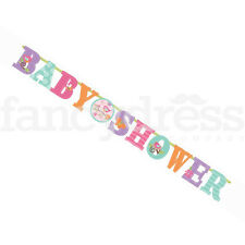 GRANDE JUMBO Baby Shower Banner Bambina 8 piedi 3 METRI PARTY ACCESSORIO NUOVO