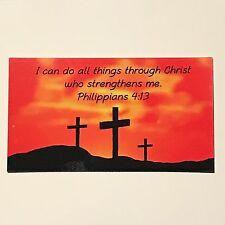 Philippians 4:13  Magnet - Kitchen Refrigerator - Christian Jesus - Bible Verse