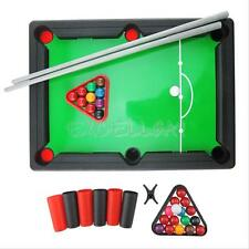 Mini Pool Table Game Tabletop With Accessories Board Games Billiards Set Desktop