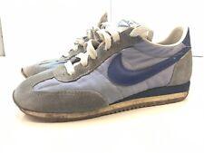 80s Vintage NIKE OCEANIA Waffle Cortez Sneaker Running Shoes Blue US SZ 6