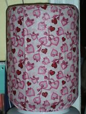 VALENTINES DAY LOVE RIBBON 5 GALLON WATER COOLER BOTTLE COVER KITCHEN DECORATION