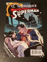 Convergence Superman #2 1st Appearance of Jonathan Kent! Key DC 2015 NM