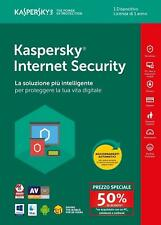 KASPERSKY INTERNET Security 2018 licenza 1 PC > 1 ANNO - Attach Deal KL1941T5AFS