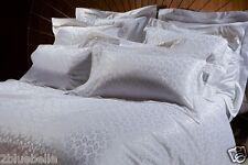 Agent Provocateur snow leopard silk duvet cover & 2 pillowcases king size white