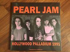 PEARL JAM - Hollywood Palladium 1991 LP new SEALED FM BROADCAST NIRVANA MUDHONEY