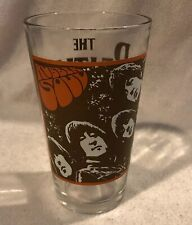 """The Beatles """"Rubber Soul"""" Collectors Heavy Pint Drinking Glass 2010 Apple Corp."""