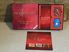 Hell's Kitchen The Board Game TV Show Gordon Ramsey Recipe Cards Family Fun