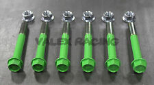 96-00 Honda Civic Rear Lower Control Arm Bolt Kit - Green EK