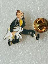 Pin's Pins Tintin et Milou bd Hergé comic strip Yoshinori bijoux en France