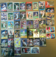Greg Maddux LOT of 70 NM+ insert base cards 1988-2001 HOF Cubs Braves Chicago