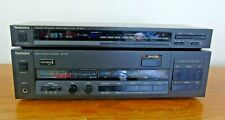 TECHNICS SU-V96 POWER AMPLIFIER & ST-S96 STEREO TUNER - CLASS A -- FULLY TESTED
