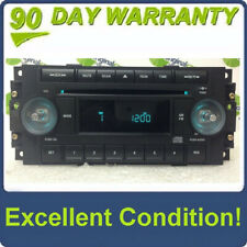 2004 - 2008 Chrysler Jeep Dodge OEM Radio CD Player Receiver REF w/ NO KNOBS