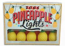 10 LED vintage style PINEAPPLE lights suit garden tea rooms party kitchen bar